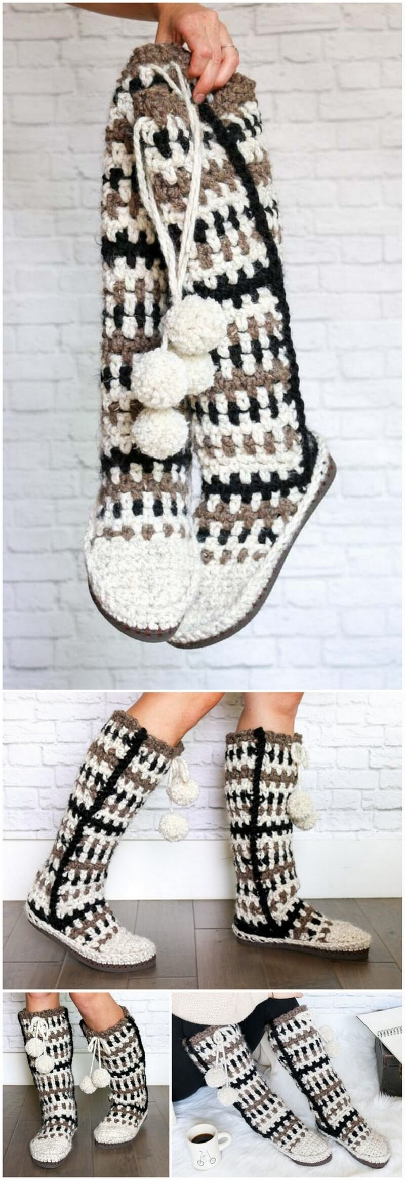 Crochet Slipper Pattern (45)