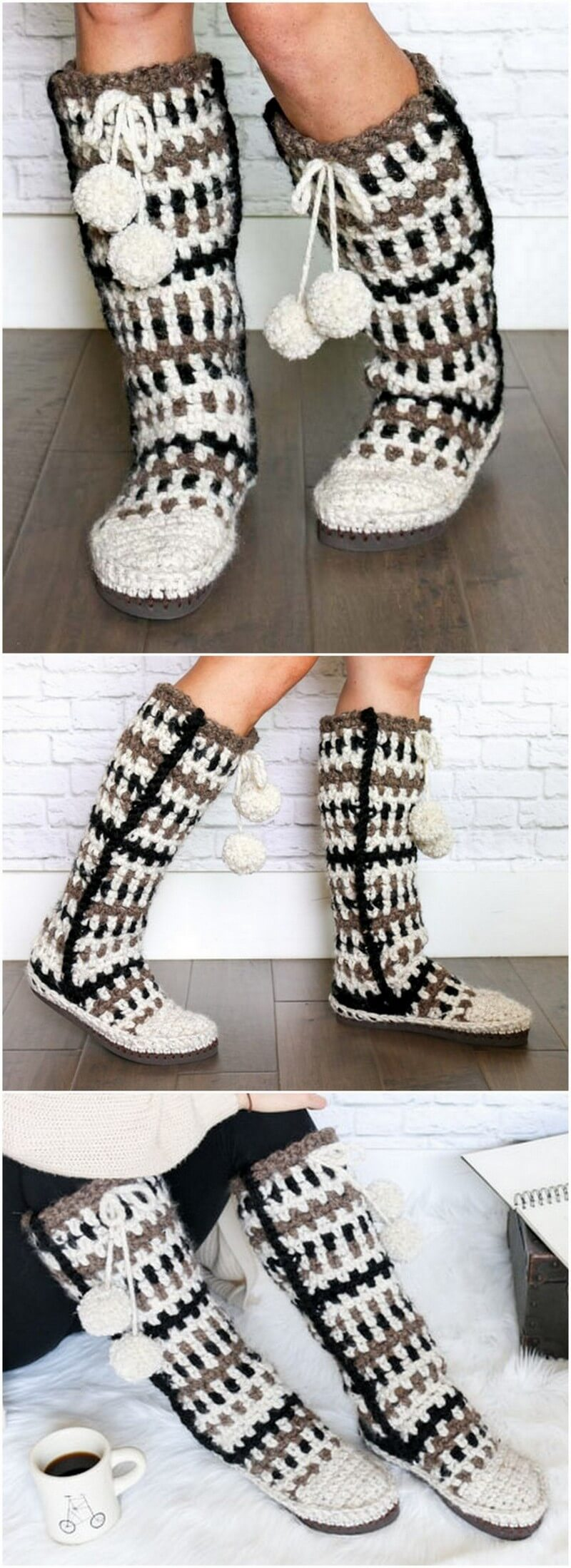 Crochet Slipper Pattern (46)