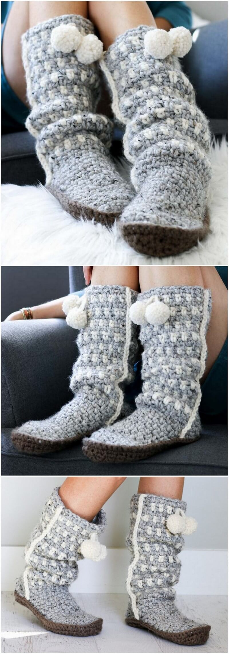 Crochet Slipper Pattern (49)