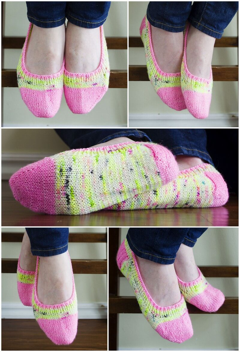 Crochet Slipper Pattern (55)