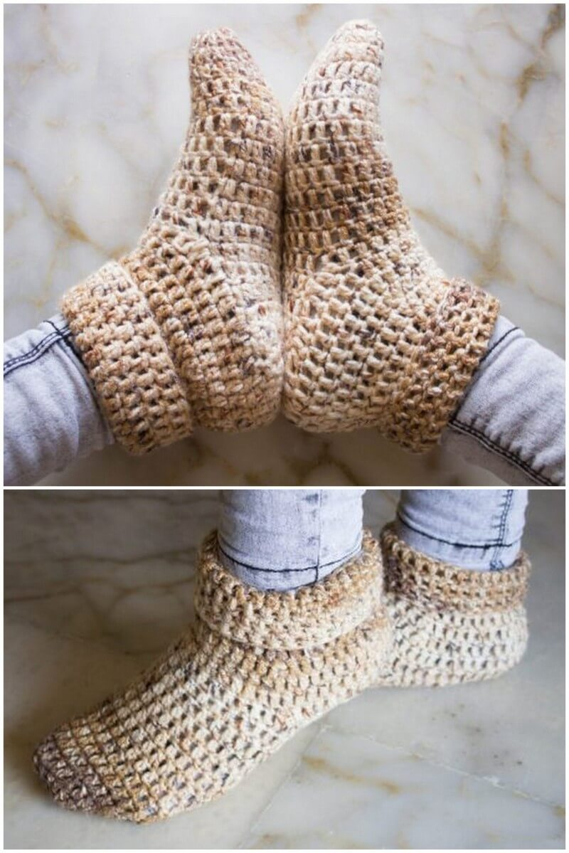 Crochet Slipper Pattern (56)