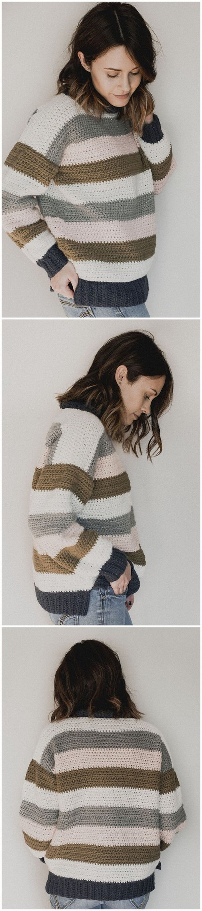 Crochet Sweater Pattern (20)
