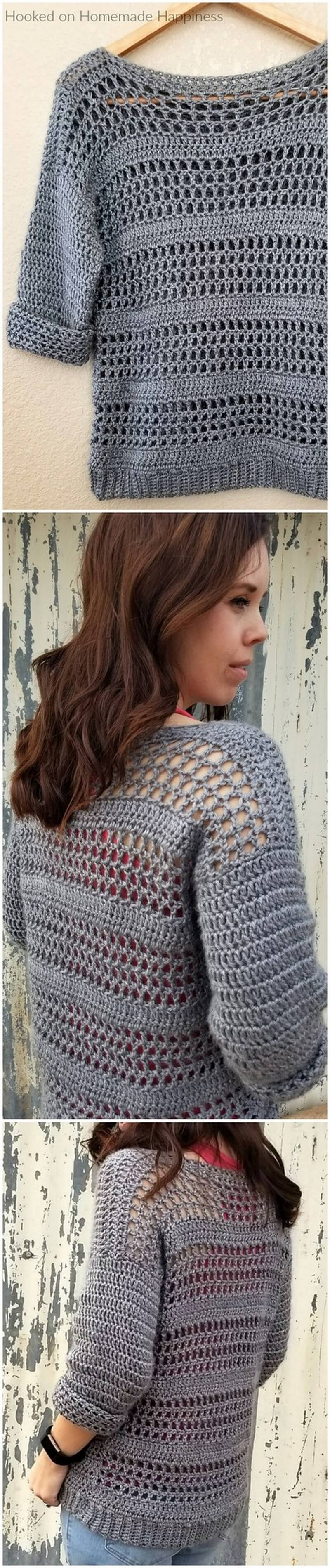 Crochet Sweater Pattern (3)