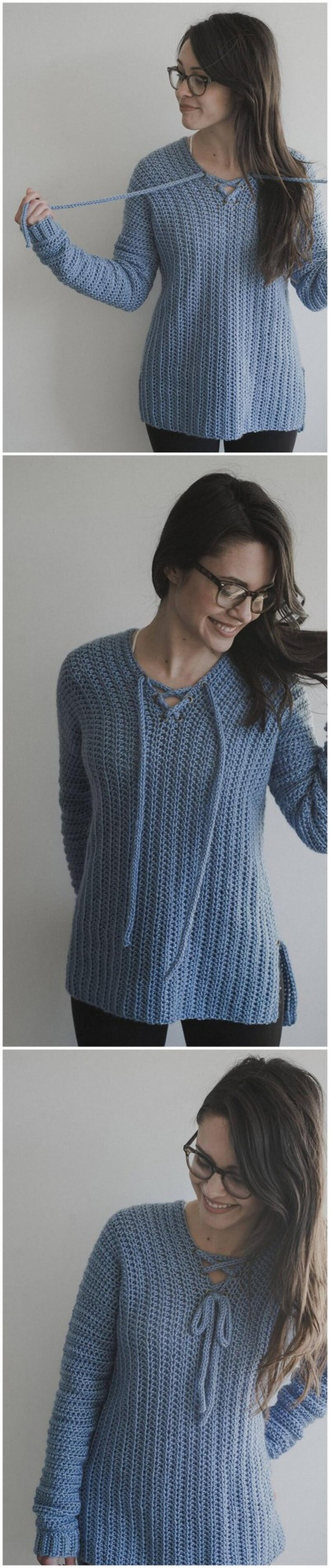 Crochet Sweater Pattern (53)