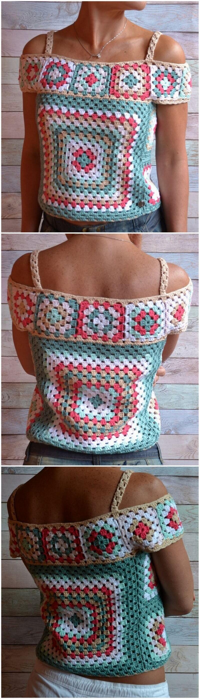 Crochet Top Pattern (35)