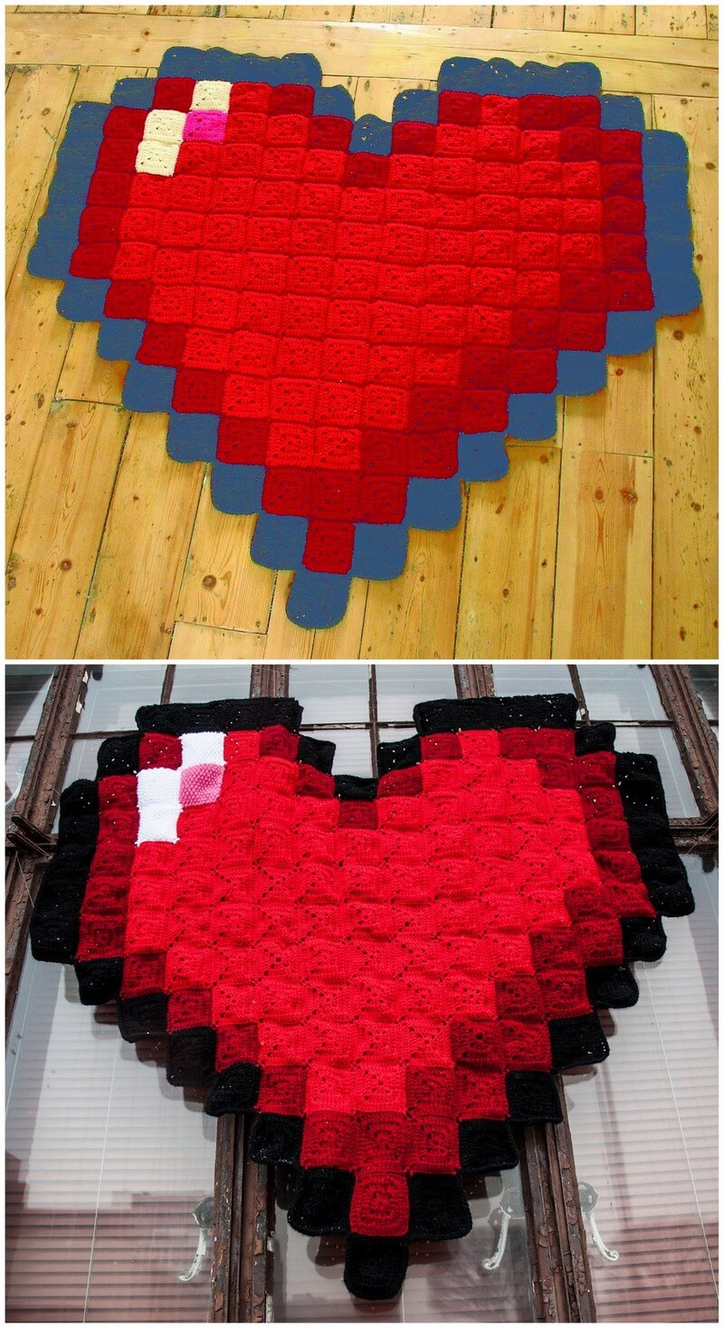 Easy Crochet Blanket Pattern (1)