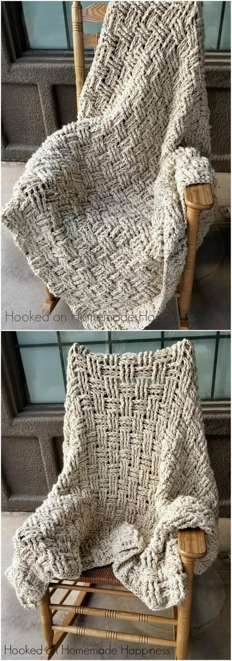 Easy Crochet Blanket Pattern (10)