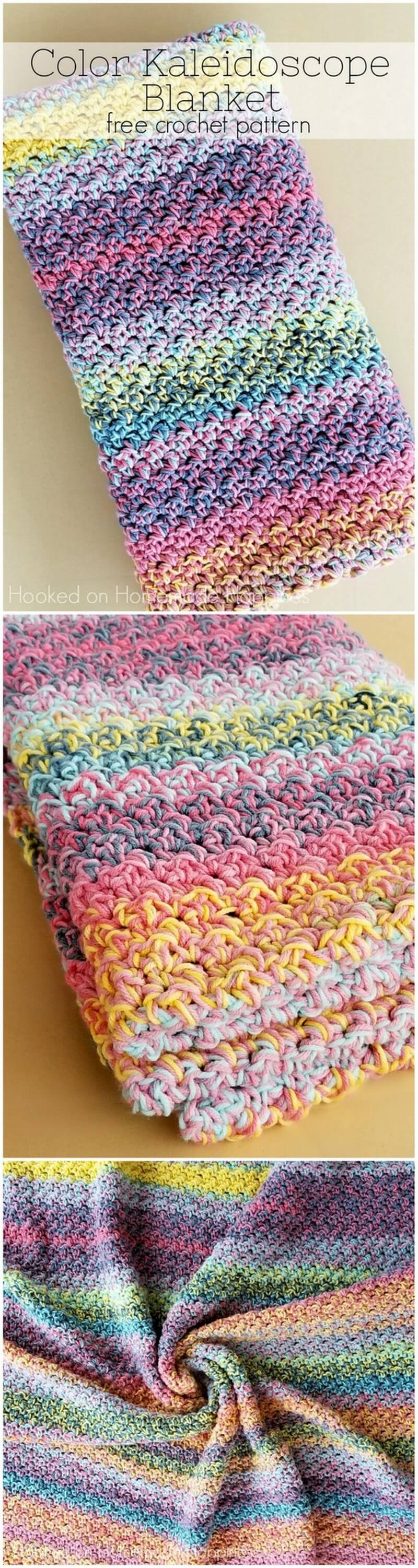 Easy Crochet Blanket Pattern (13)