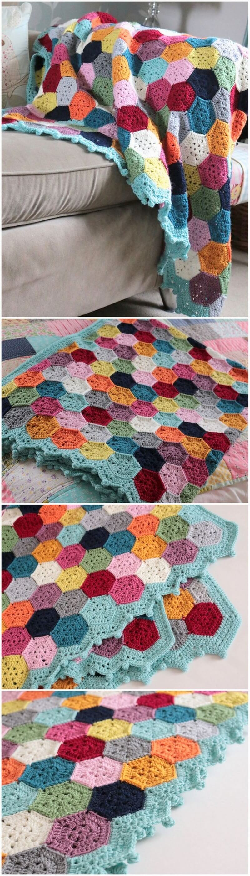 Easy Crochet Blanket Pattern (2)