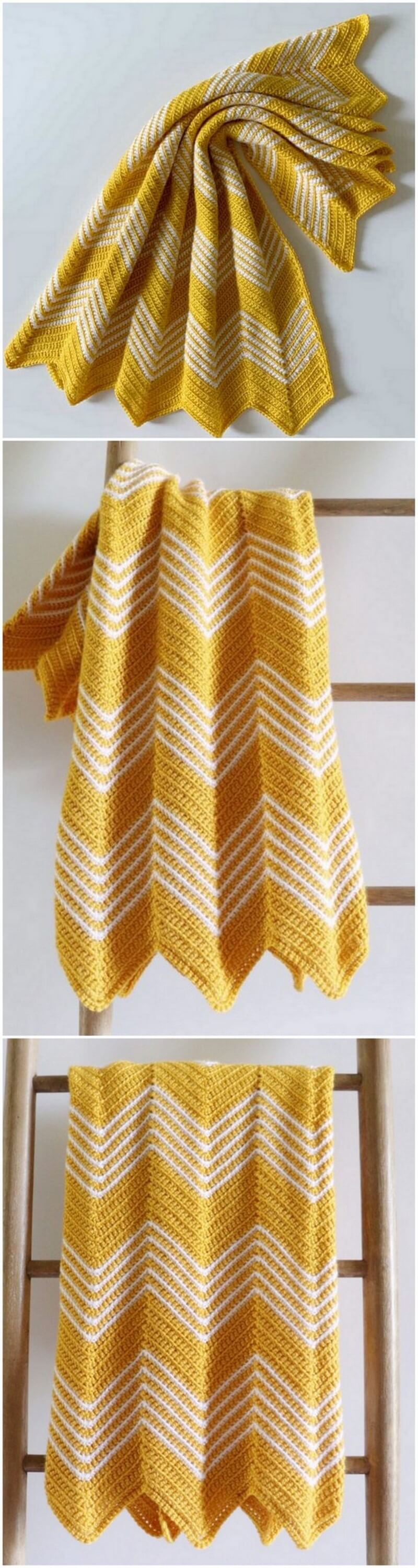 Easy Crochet Blanket Pattern (24)
