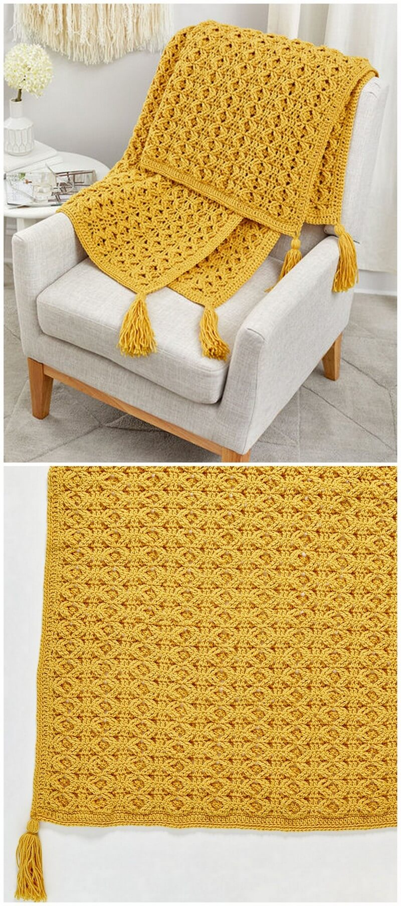 Easy Crochet Blanket Pattern (26)