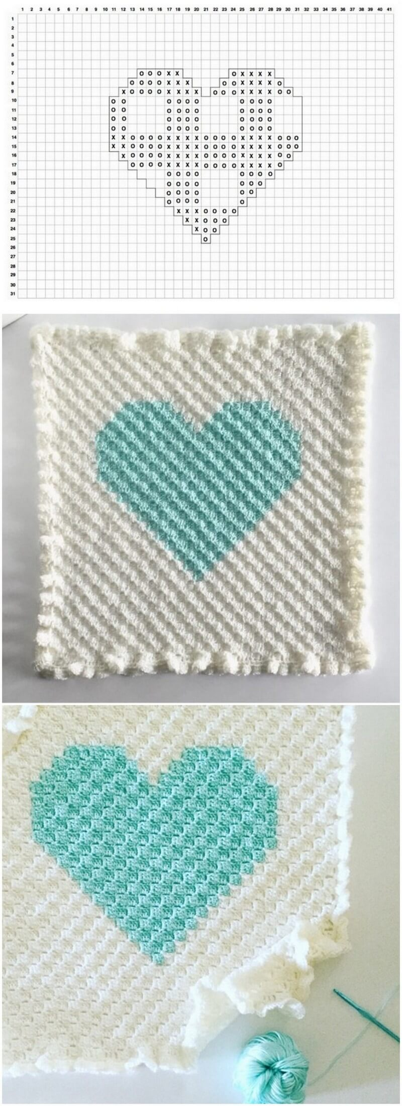 Easy Crochet Blanket Pattern (29)