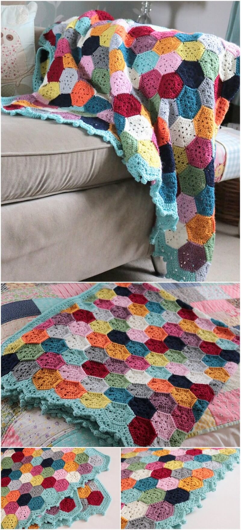 Easy Crochet Blanket Pattern (3)