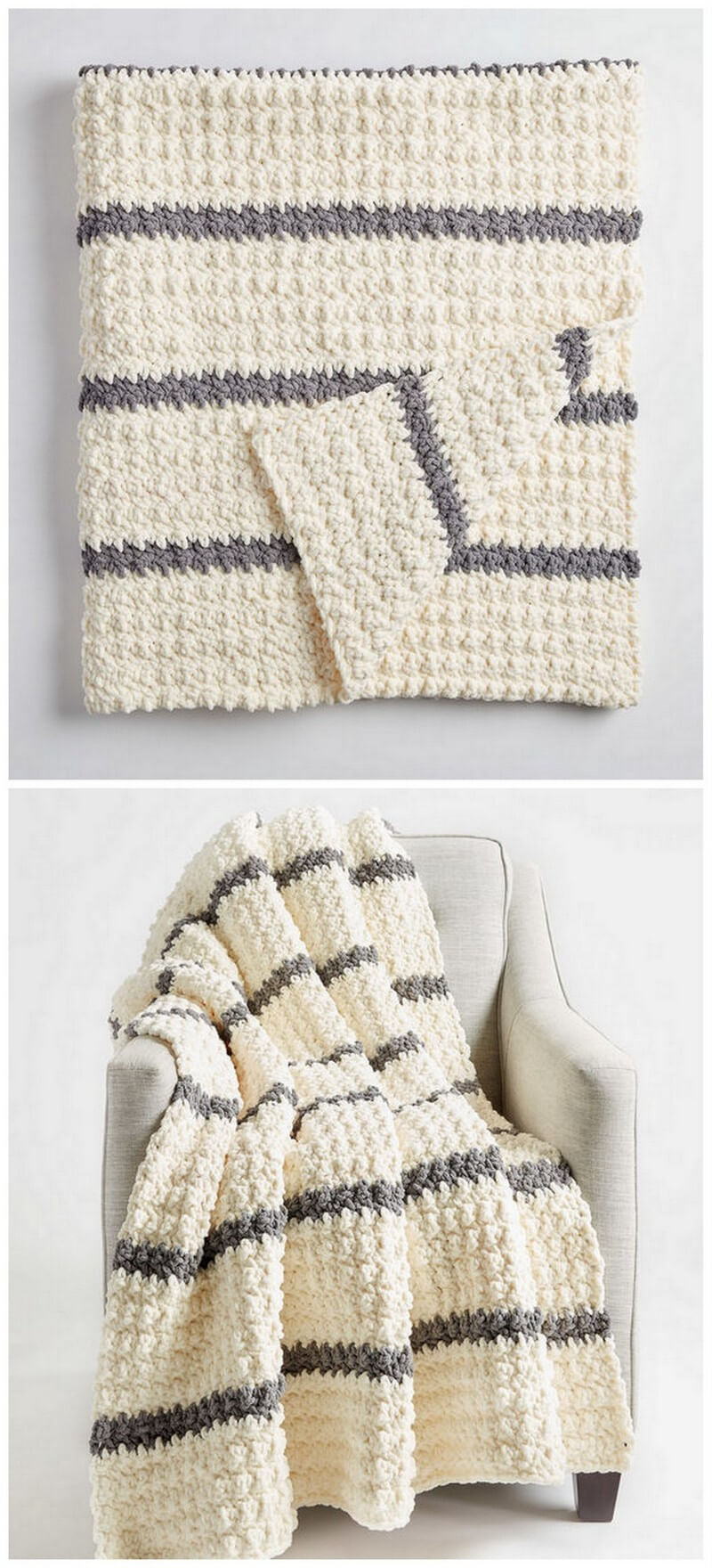 Easy Crochet Blanket Pattern (30)