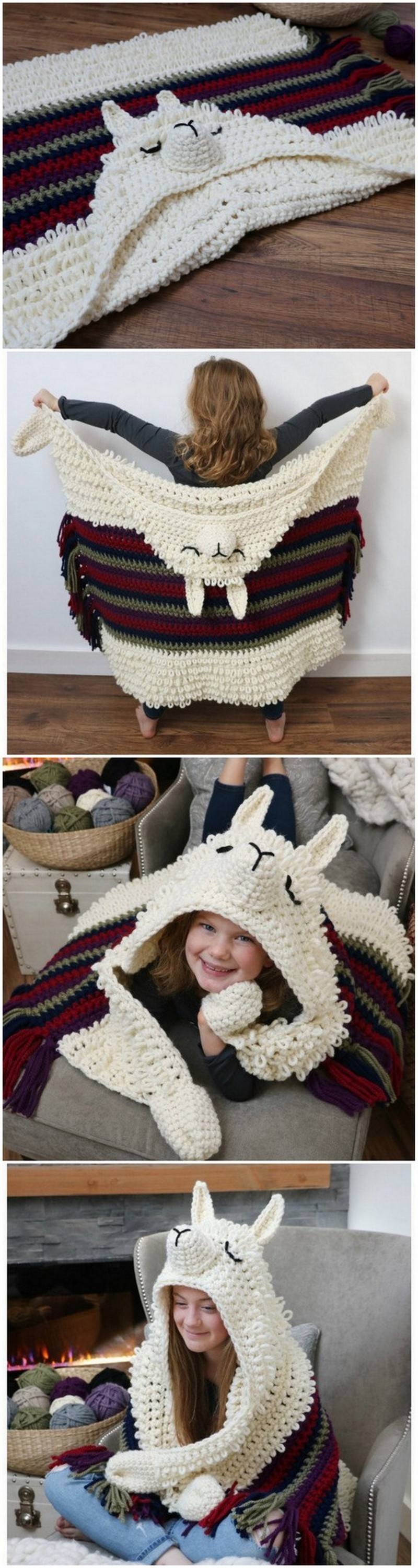 Easy Crochet Blanket Pattern (34)