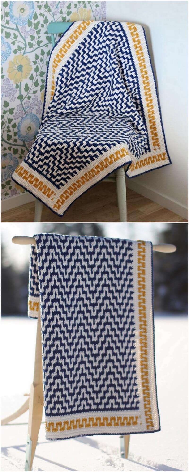 Easy Crochet Blanket Pattern (36)