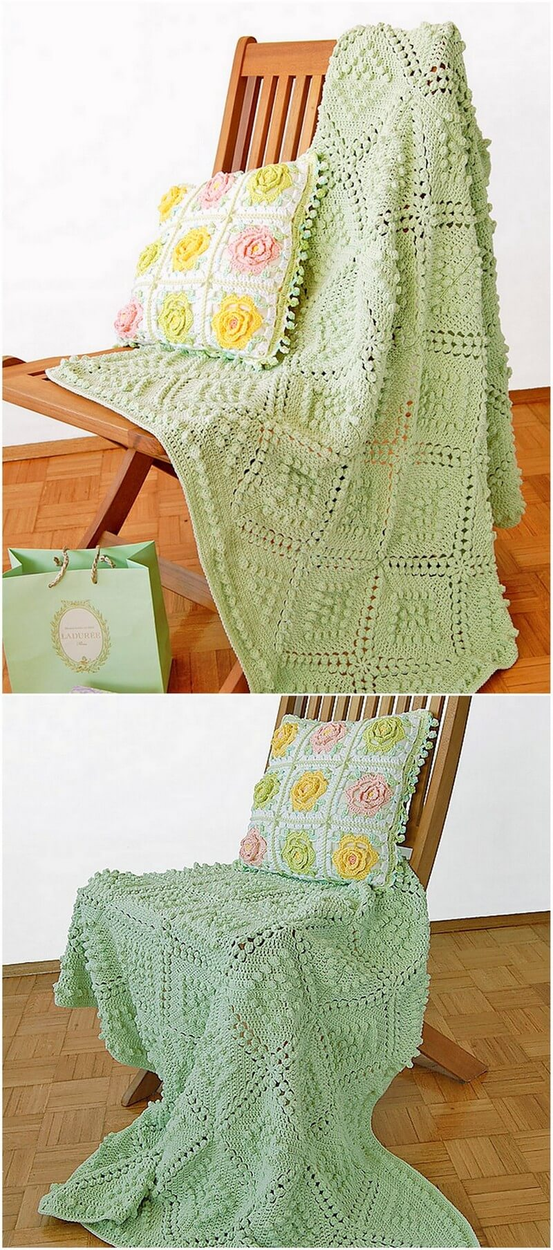 Easy Crochet Blanket Pattern (4)