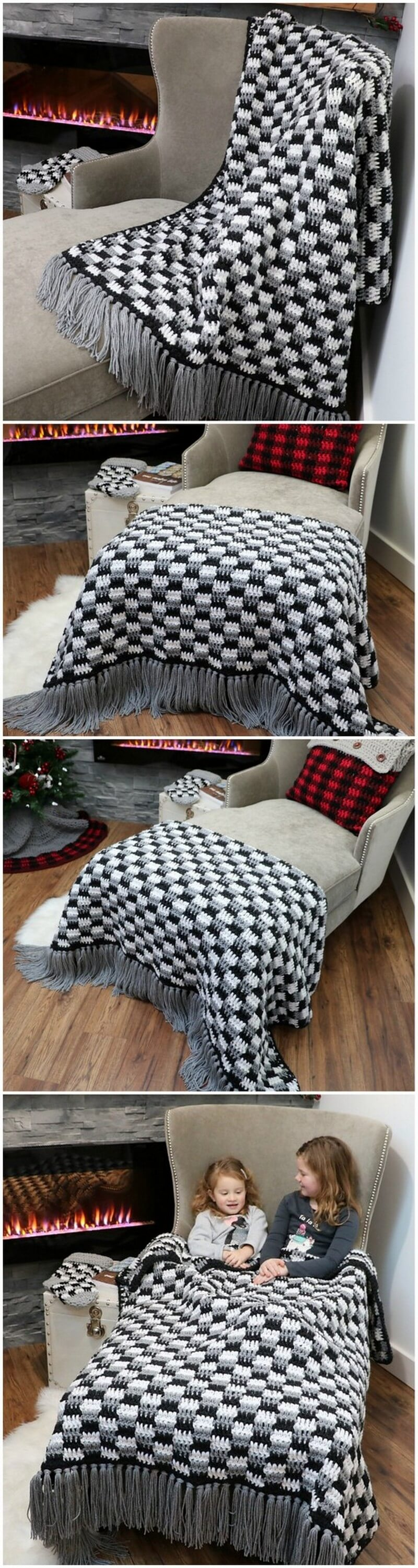 Easy Crochet Blanket Pattern (41)