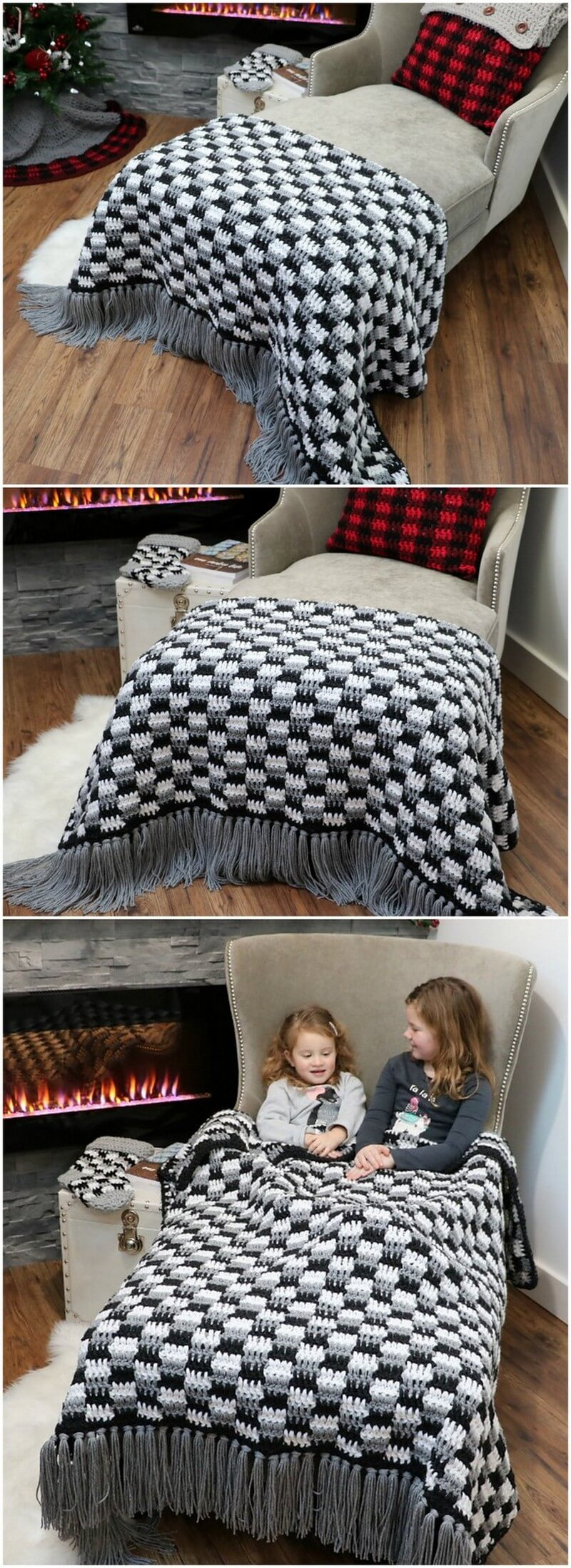 Easy Crochet Blanket Pattern (42)