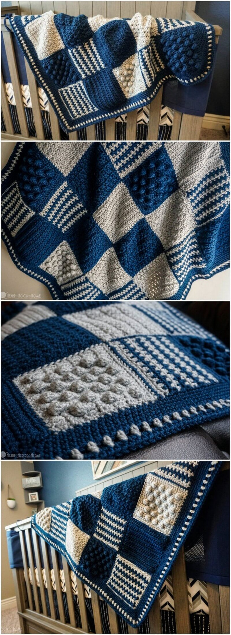 Easy Crochet Blanket Pattern (46)