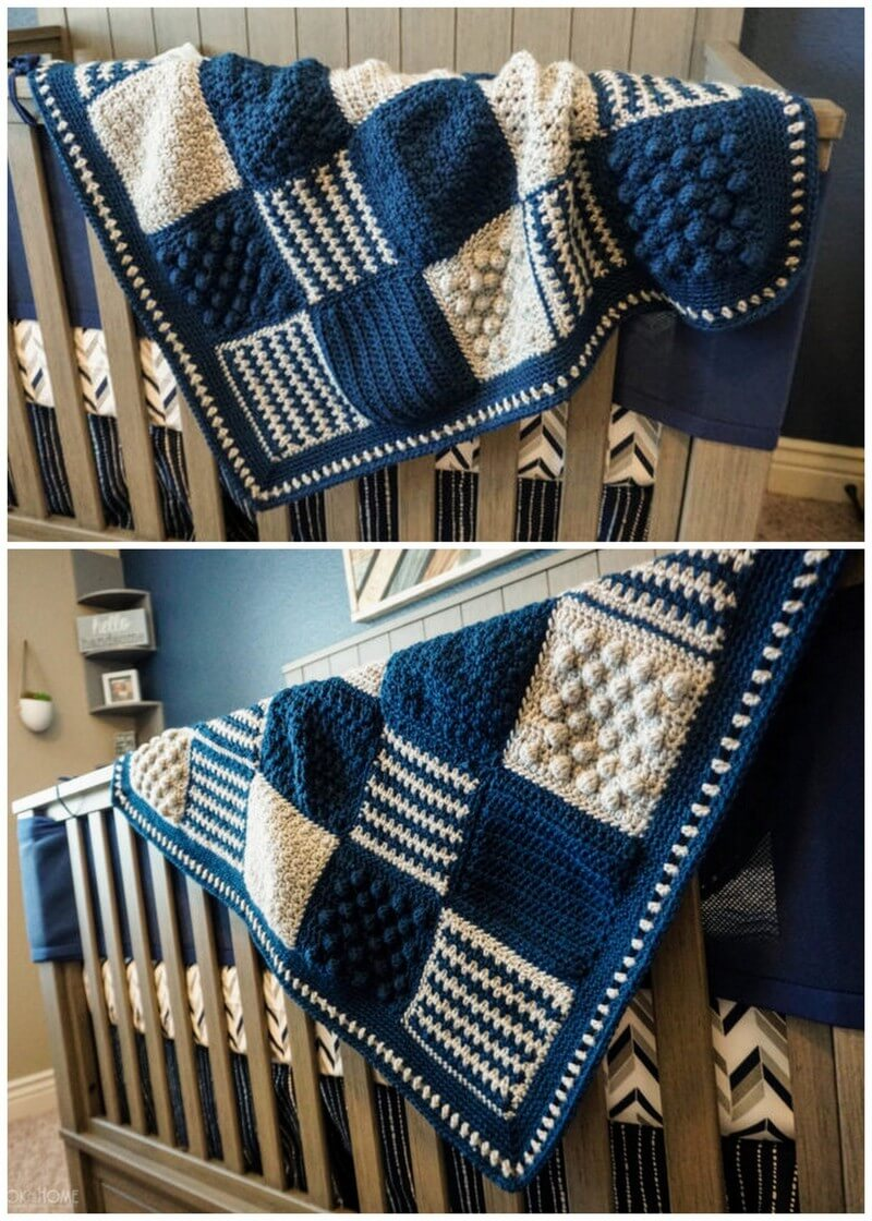 Easy Crochet Blanket Pattern (47)