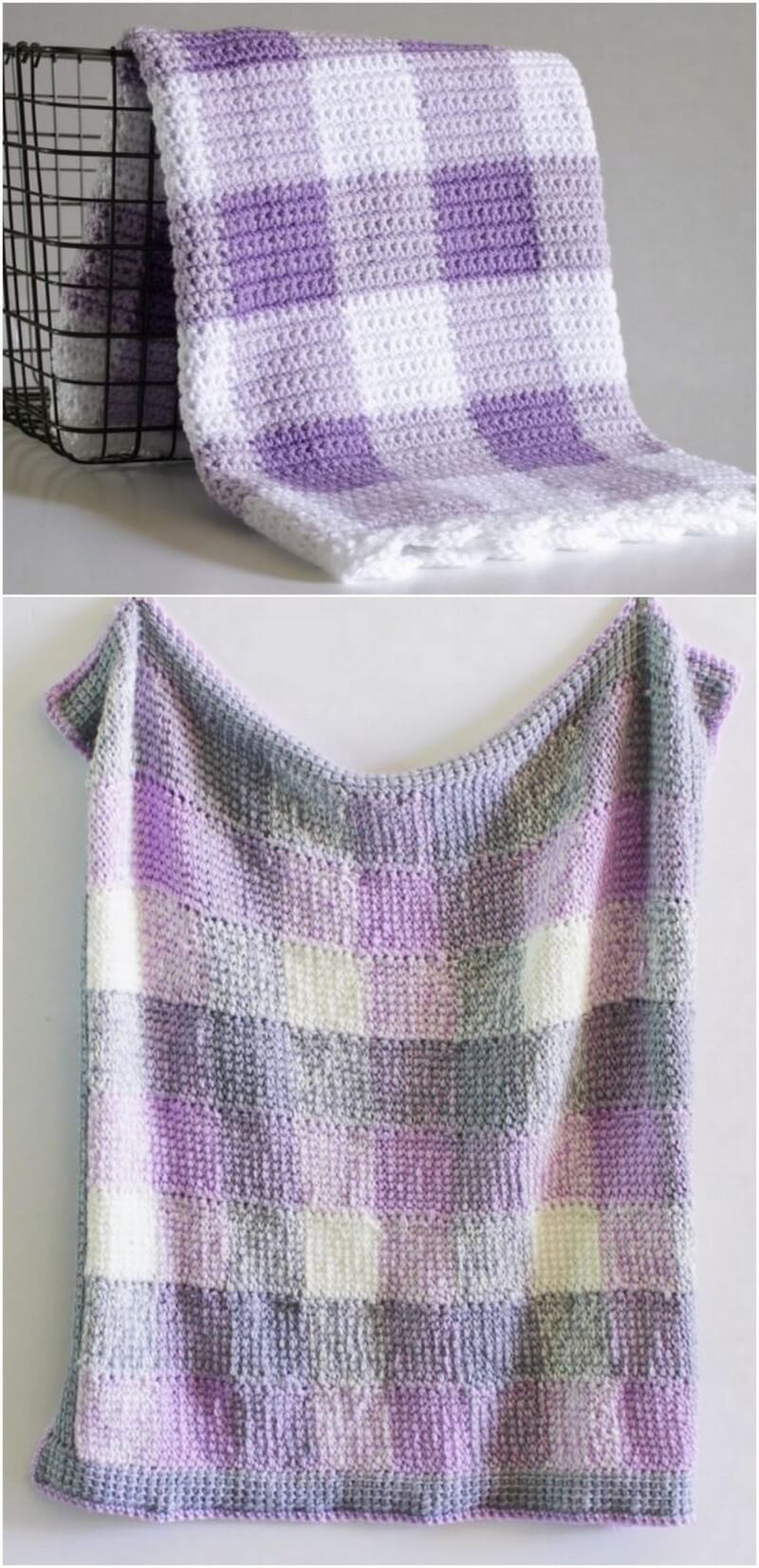 Easy Crochet Blanket Pattern (5)