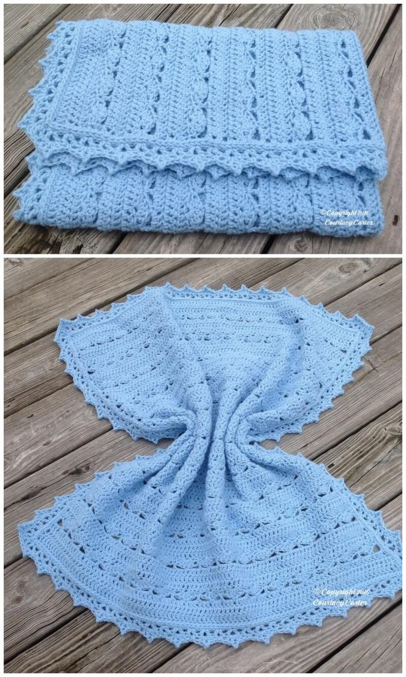 Easy Crochet Blanket Pattern (53)
