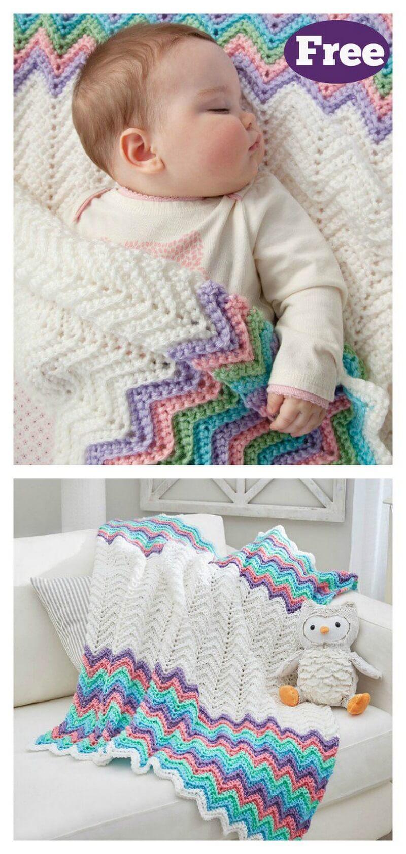 Easy Crochet Blanket Pattern (59)