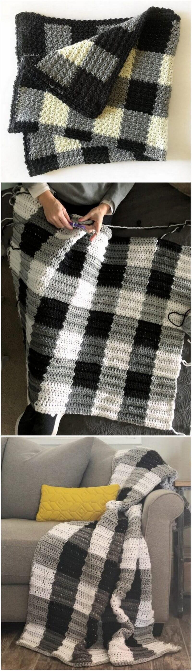 Easy Crochet Blanket Pattern (6)