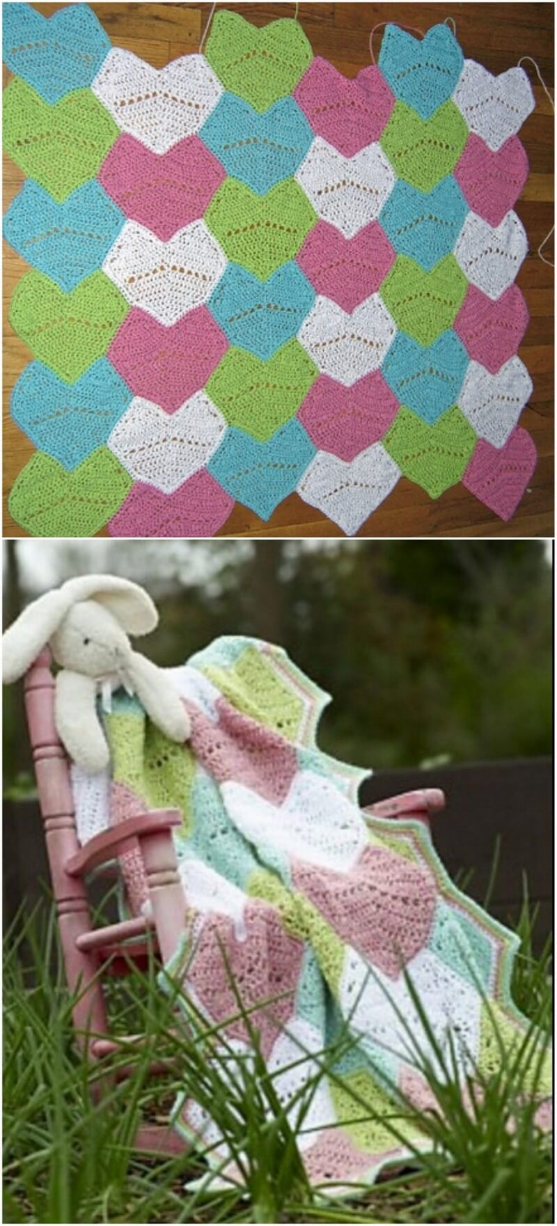 Easy Crochet Blanket Pattern (9)