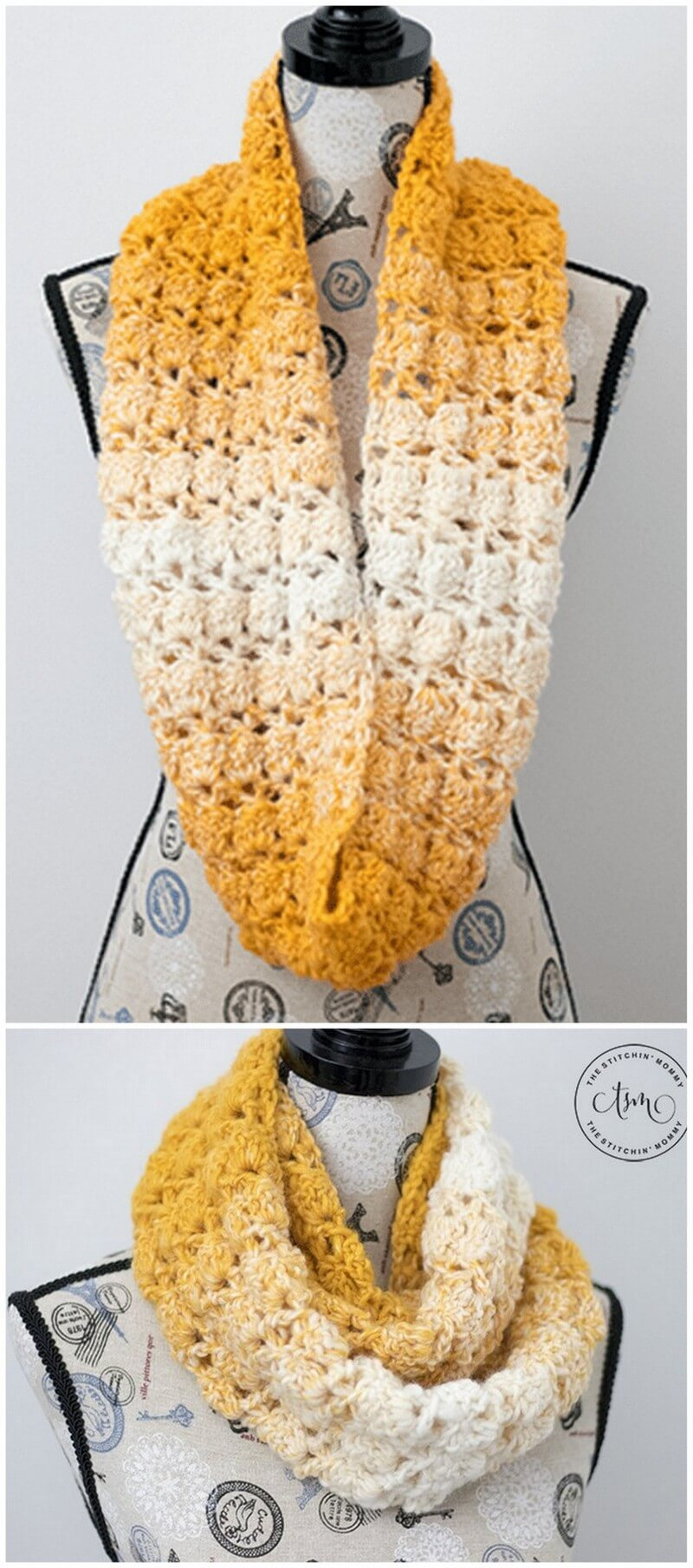 Easy Crochet Scarf Pattern (1)