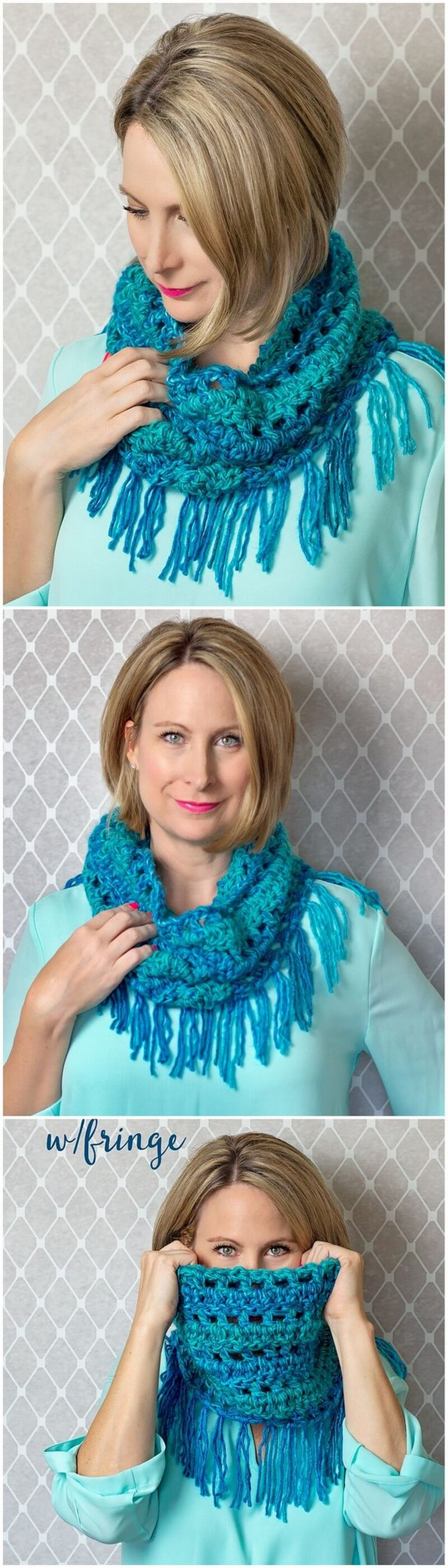 Easy Crochet Scarf Pattern (10)