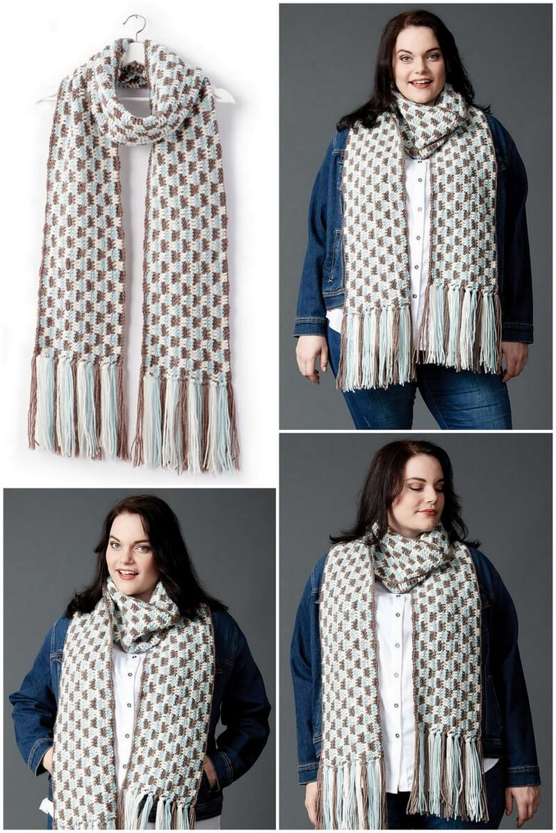 Easy Crochet Scarf Pattern (11)