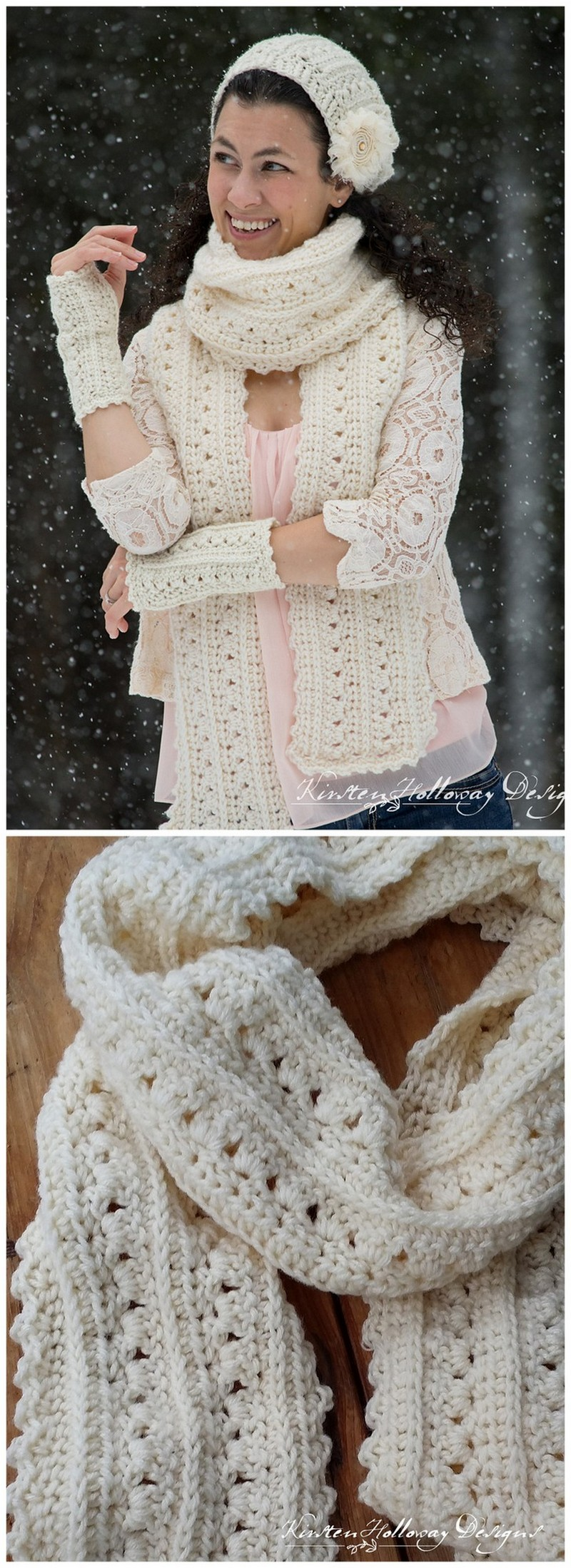 Easy Crochet Scarf Pattern (16)