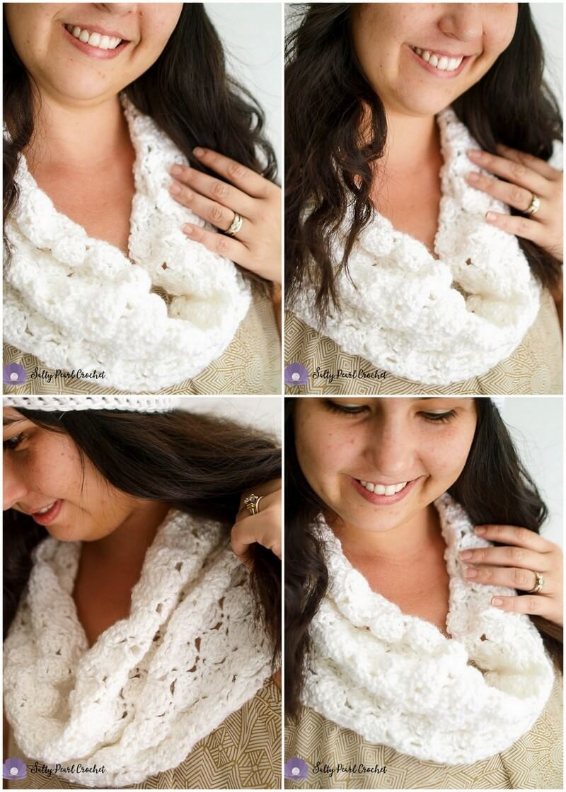 Easy Crochet Scarf Pattern (2)