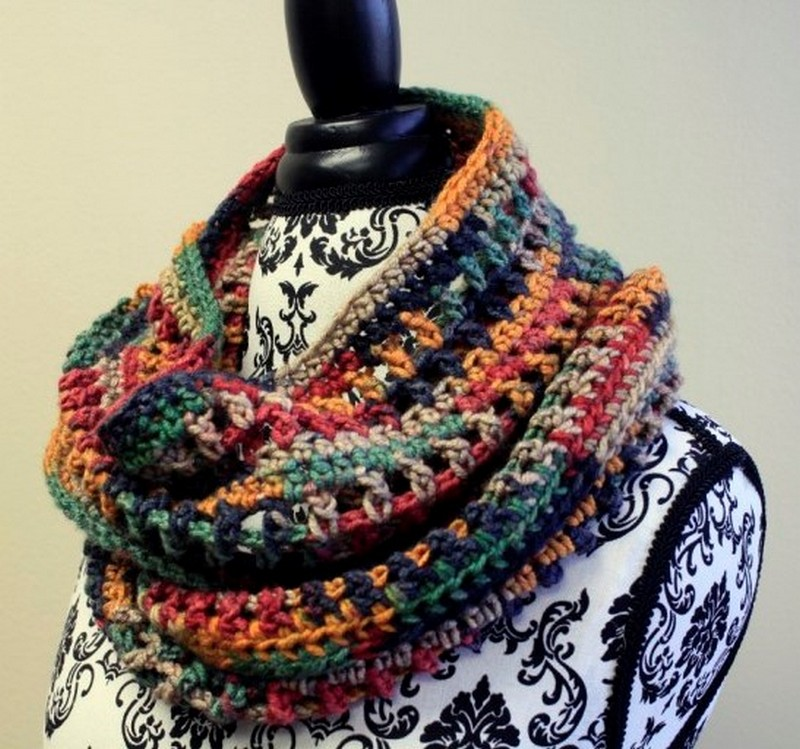 Easy Crochet Scarf Pattern (21)