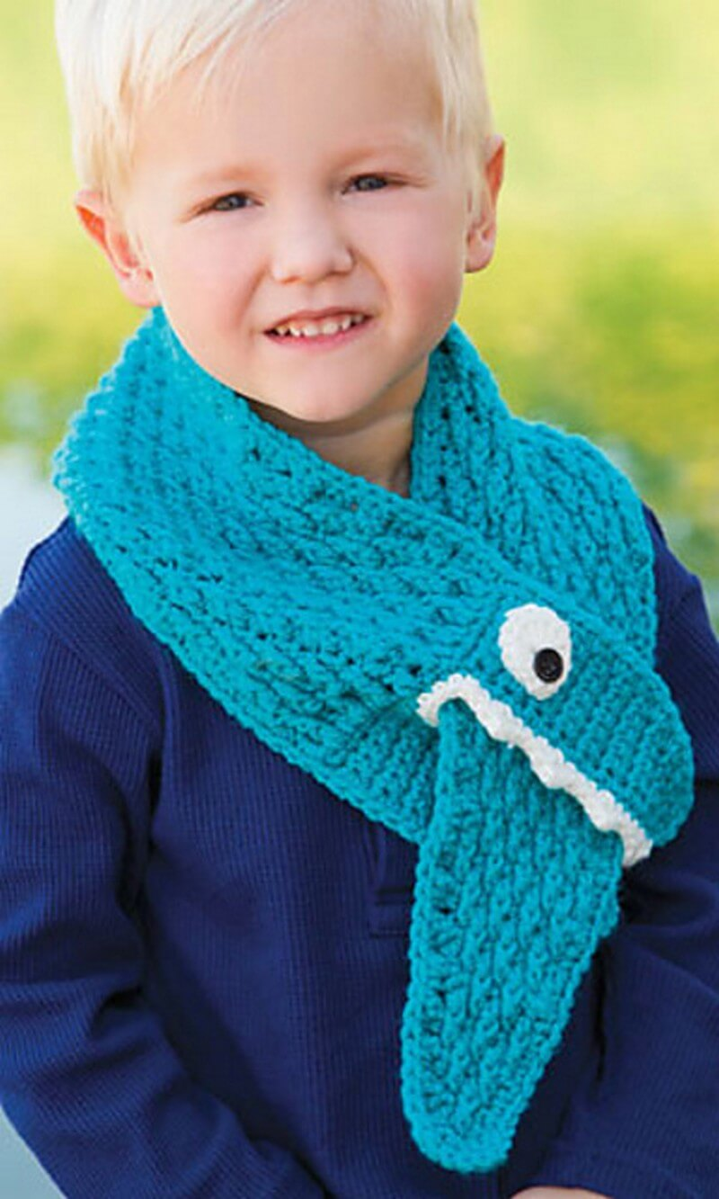 Easy Crochet Scarf Pattern (24)