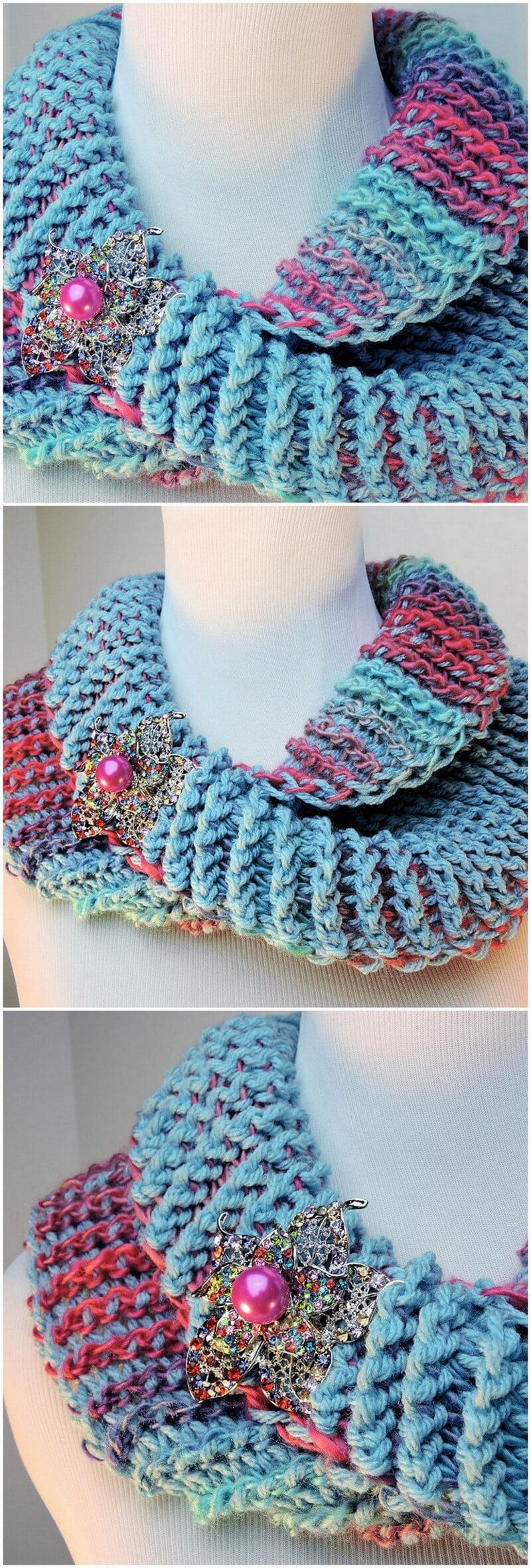 Easy Crochet Scarf Pattern (27)