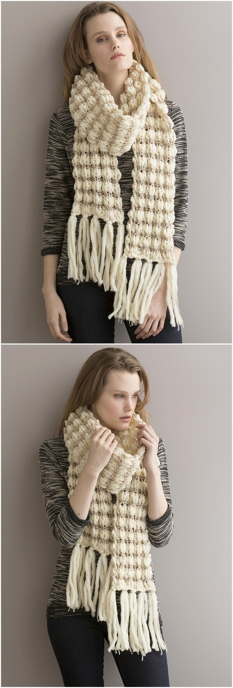 Easy Crochet Scarf Pattern (28)