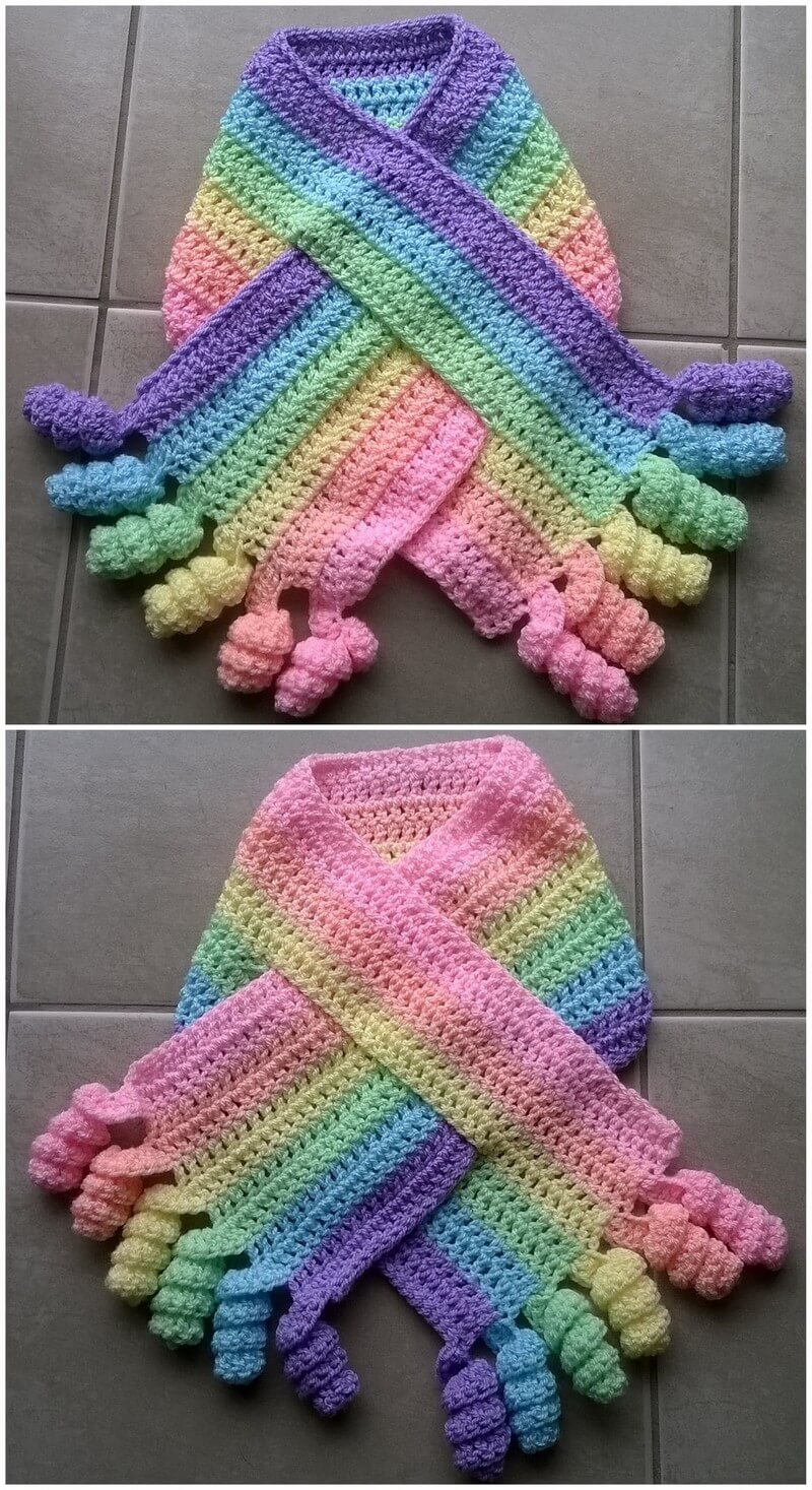 Easy Crochet Scarf Pattern (29)