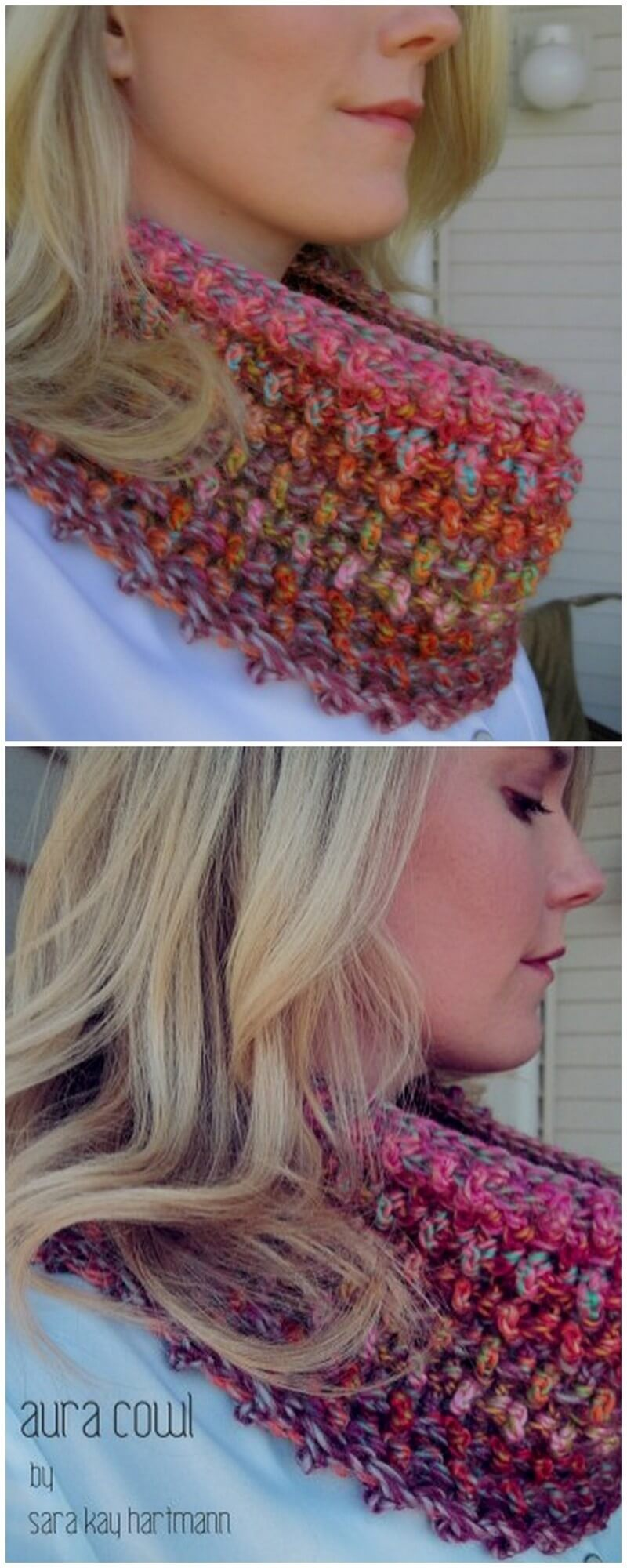 Easy Crochet Scarf Pattern (3)