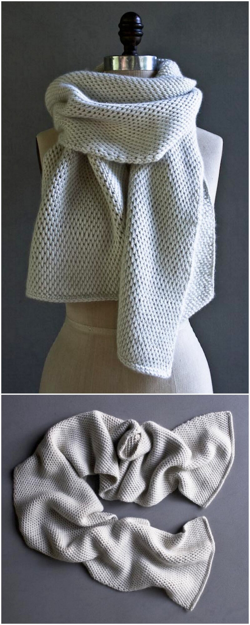 Easy Crochet Scarf Pattern (31)