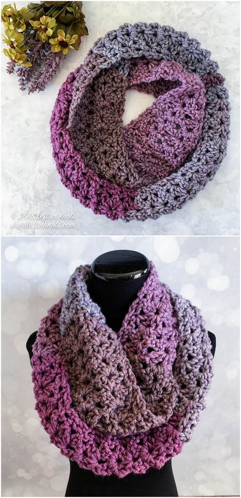 Easy Crochet Scarf Pattern (34)