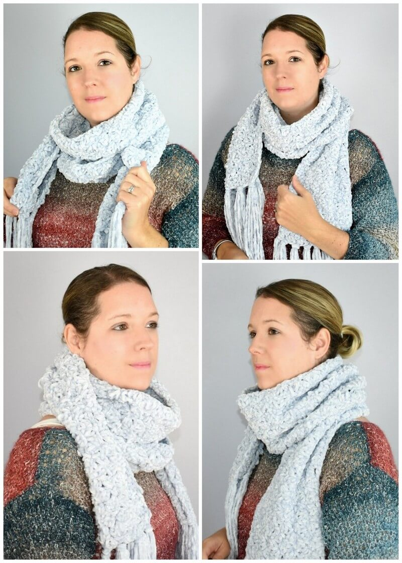 Easy Crochet Scarf Pattern (38)
