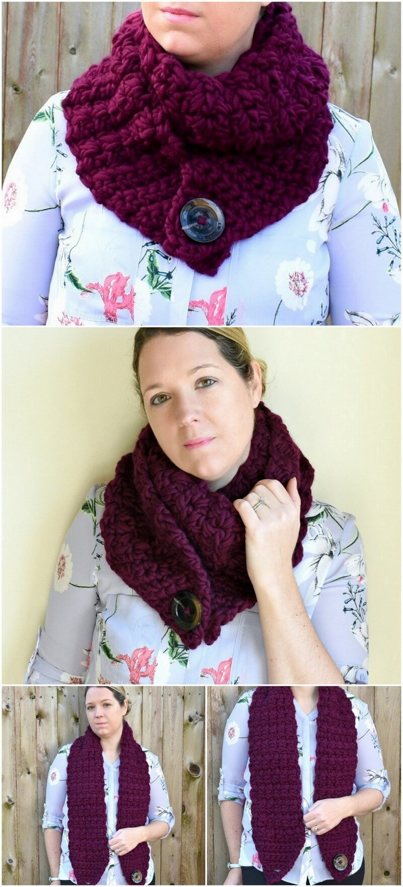 Easy Crochet Scarf Pattern (39)