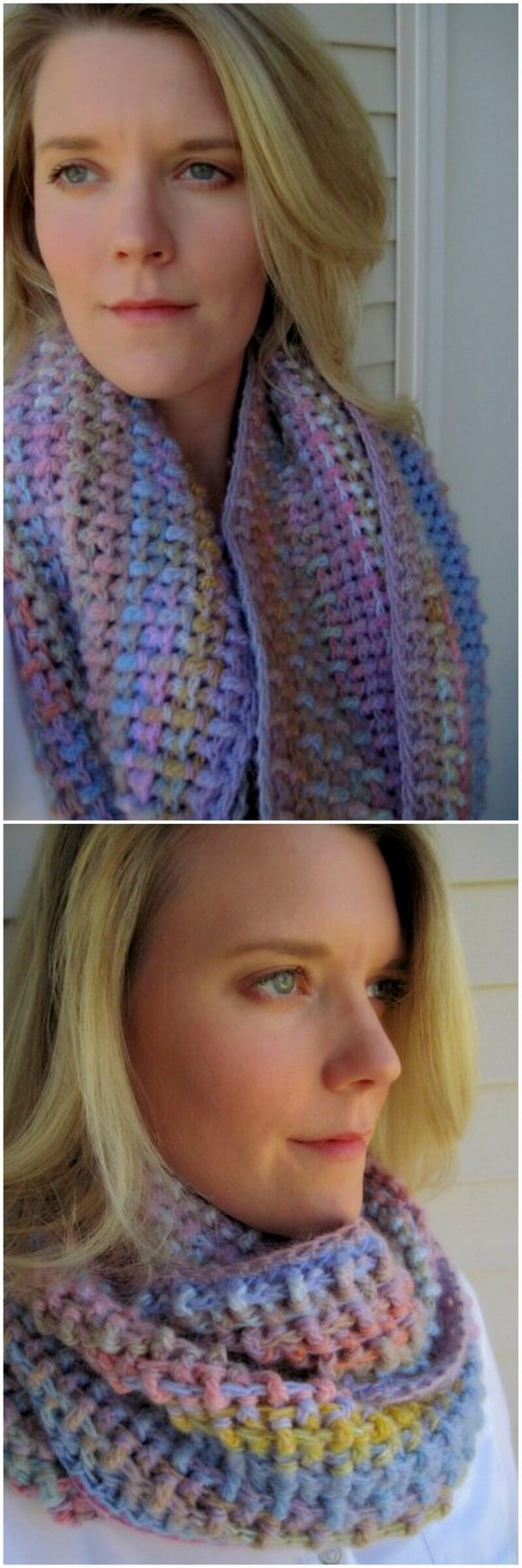 Easy Crochet Scarf Pattern (4)
