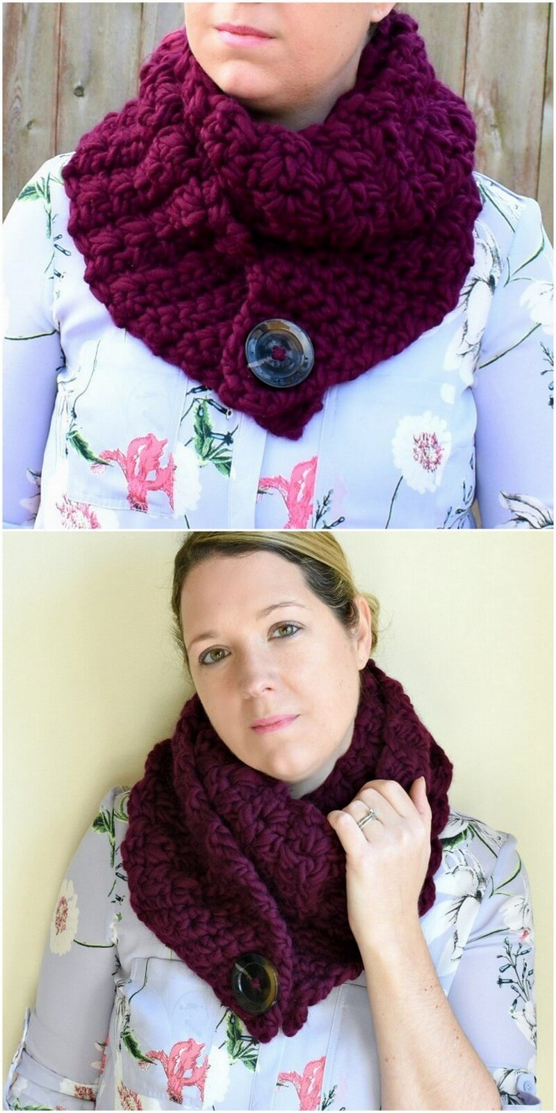 Easy Crochet Scarf Pattern (40)