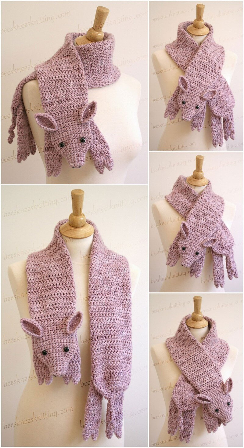 Easy Crochet Scarf Pattern (44)