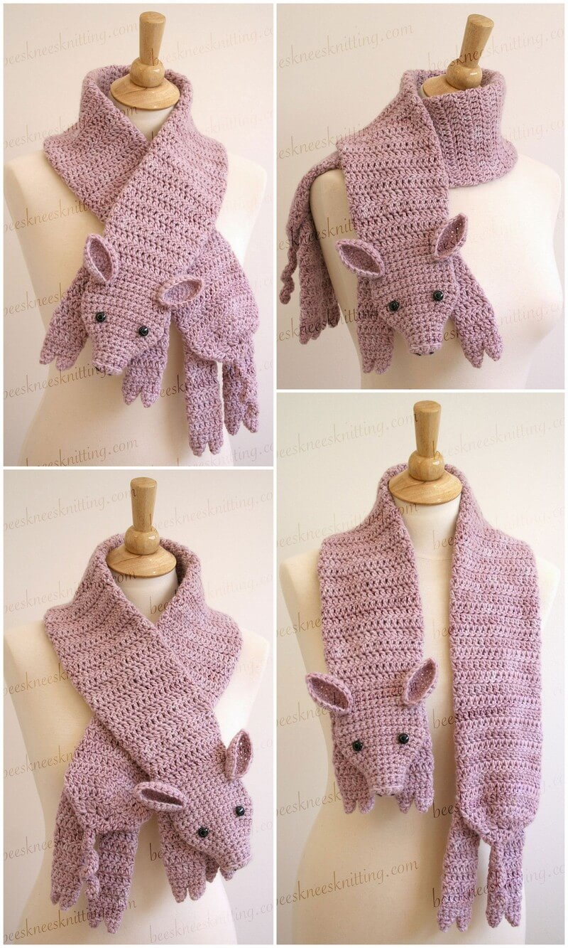 Easy Crochet Scarf Pattern (45)