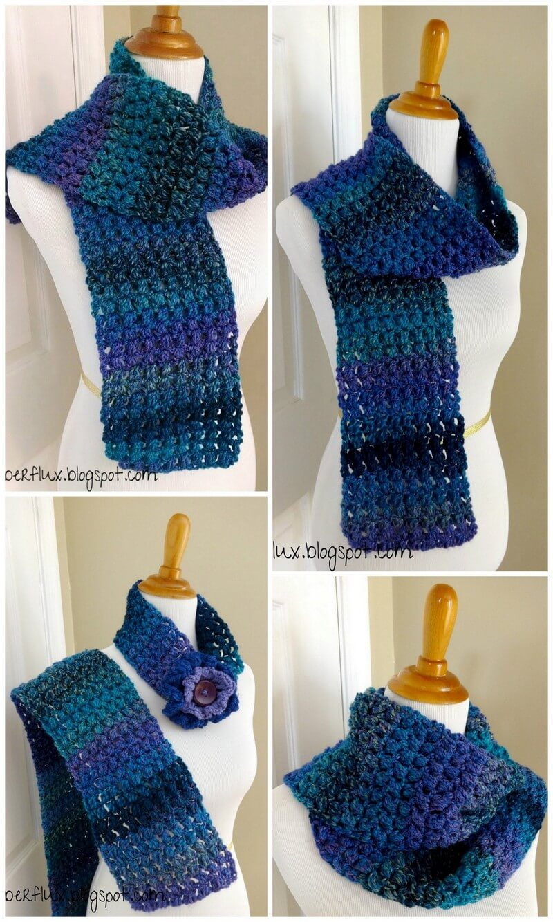 Easy Crochet Scarf Pattern (48)